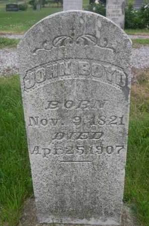 BOYD, JOHN - Gage County, Nebraska   JOHN BOYD - Nebraska Gravestone Photos