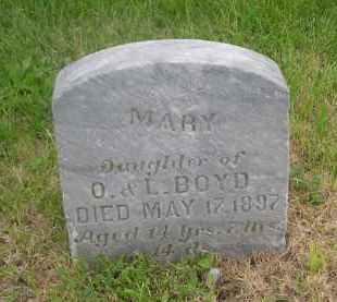 BOYD, MARY - Gage County, Nebraska | MARY BOYD - Nebraska Gravestone Photos