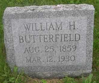 BUTTERFIELD, WILLIAM H. - Gage County, Nebraska | WILLIAM H. BUTTERFIELD - Nebraska Gravestone Photos