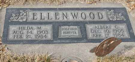 ELLENWOOD, HILDA - Gage County, Nebraska | HILDA ELLENWOOD - Nebraska Gravestone Photos