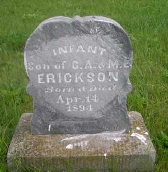 ERICKSON, INFANT SON OF C.A. & M.E. - Gage County, Nebraska | INFANT SON OF C.A. & M.E. ERICKSON - Nebraska Gravestone Photos