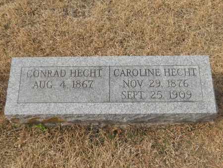 HECHT, CAROLINE - Gage County, Nebraska   CAROLINE HECHT - Nebraska Gravestone Photos