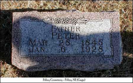 HENDRICKSEN, PETER - Gage County, Nebraska   PETER HENDRICKSEN - Nebraska Gravestone Photos