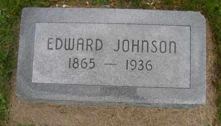 JOHNSON, EDWARD - Gage County, Nebraska | EDWARD JOHNSON - Nebraska Gravestone Photos