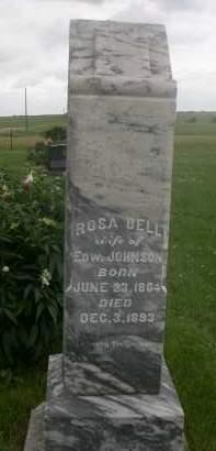 JOHNSON, ROSA BELL - Gage County, Nebraska | ROSA BELL JOHNSON - Nebraska Gravestone Photos