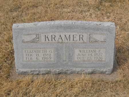 KRAMER, WILLIAM - Gage County, Nebraska   WILLIAM KRAMER - Nebraska Gravestone Photos