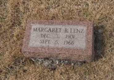 LENZ, MARGARET - Gage County, Nebraska   MARGARET LENZ - Nebraska Gravestone Photos