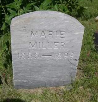 MILLER, MARIE - Gage County, Nebraska | MARIE MILLER - Nebraska Gravestone Photos