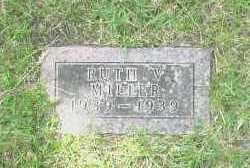 MILLER, RUTH V. - Gage County, Nebraska | RUTH V. MILLER - Nebraska Gravestone Photos
