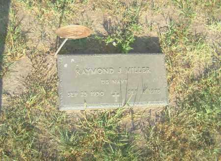 MILLER, RAYMOND J. - Gage County, Nebraska | RAYMOND J. MILLER - Nebraska Gravestone Photos