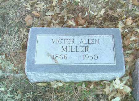 MILLER, VICTOR ALLEN - Gage County, Nebraska | VICTOR ALLEN MILLER - Nebraska Gravestone Photos