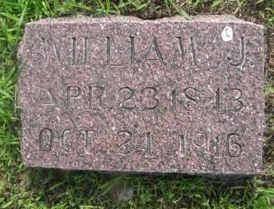 MILLER, WILLIAM J. - Gage County, Nebraska   WILLIAM J. MILLER - Nebraska Gravestone Photos