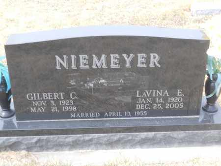 NIEMEYER, LAVINA - Gage County, Nebraska | LAVINA NIEMEYER - Nebraska Gravestone Photos