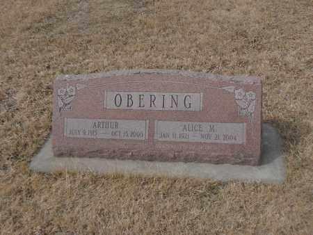 OBERING, ALICE - Gage County, Nebraska | ALICE OBERING - Nebraska Gravestone Photos