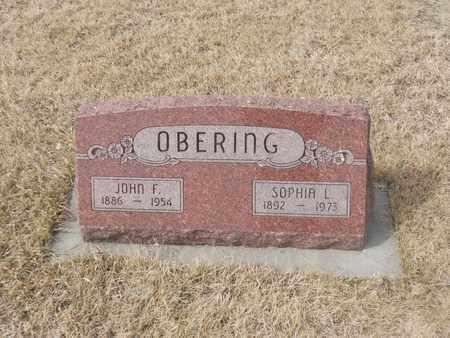 OBERING, SOPHIA L. - Gage County, Nebraska | SOPHIA L. OBERING - Nebraska Gravestone Photos