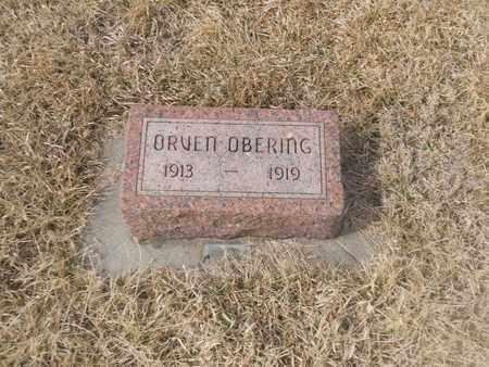 OBERING, ORVEN - Gage County, Nebraska | ORVEN OBERING - Nebraska Gravestone Photos