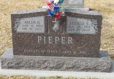PIEPER, LUCILLE - Gage County, Nebraska | LUCILLE PIEPER - Nebraska Gravestone Photos