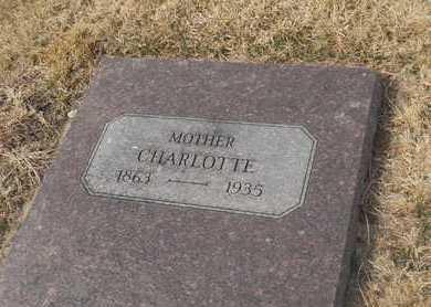 PIEPER, CHARLOTTE - Gage County, Nebraska   CHARLOTTE PIEPER - Nebraska Gravestone Photos
