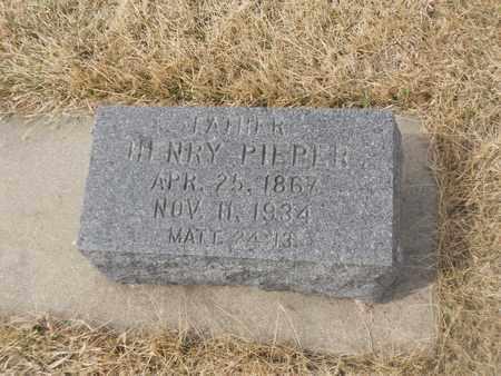 PIEPER, HENRY - Gage County, Nebraska   HENRY PIEPER - Nebraska Gravestone Photos