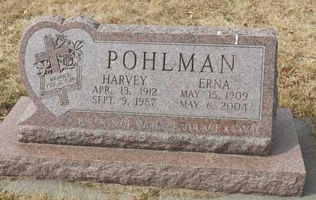 POHLMAN, HARVEY - Gage County, Nebraska | HARVEY POHLMAN - Nebraska Gravestone Photos