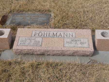 POHLMANN, MERNA - Gage County, Nebraska | MERNA POHLMANN - Nebraska Gravestone Photos