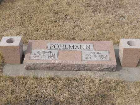 POHLMANN, RUDOLPH - Gage County, Nebraska | RUDOLPH POHLMANN - Nebraska Gravestone Photos