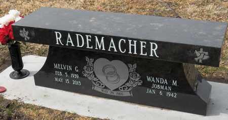 RADEMACHER, MELVIN - Gage County, Nebraska | MELVIN RADEMACHER - Nebraska Gravestone Photos