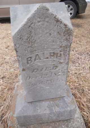 RICHARDSON, RALPH - Gage County, Nebraska | RALPH RICHARDSON - Nebraska Gravestone Photos