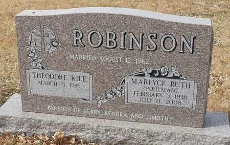 ROBINSON, MARLYCE RUTH - Gage County, Nebraska   MARLYCE RUTH ROBINSON - Nebraska Gravestone Photos
