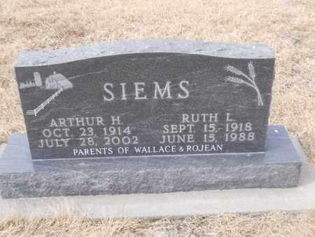 SIEMS, RUTH - Gage County, Nebraska | RUTH SIEMS - Nebraska Gravestone Photos