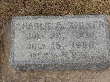 SPILKER, CHARLIE - Gage County, Nebraska | CHARLIE SPILKER - Nebraska Gravestone Photos