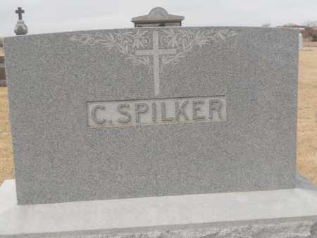 SPILKER, C. LOT STONE - Gage County, Nebraska   C. LOT STONE SPILKER - Nebraska Gravestone Photos