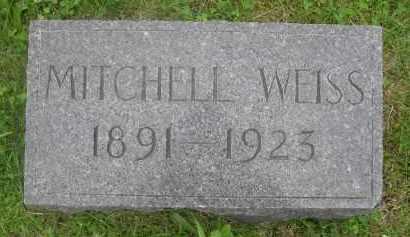 WEISS, MITCHELL - Gage County, Nebraska | MITCHELL WEISS - Nebraska Gravestone Photos