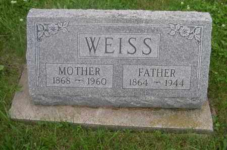 WEISS, FATHER - Gage County, Nebraska | FATHER WEISS - Nebraska Gravestone Photos