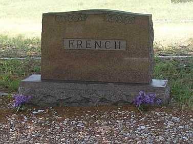 FRENCH, FAMILY - Garden County, Nebraska   FAMILY FRENCH - Nebraska Gravestone Photos