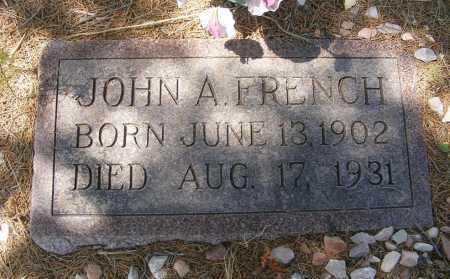 FRENCH, JOHN A. - Garden County, Nebraska | JOHN A. FRENCH - Nebraska Gravestone Photos