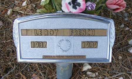 FRENCH, LEROY - Garden County, Nebraska   LEROY FRENCH - Nebraska Gravestone Photos