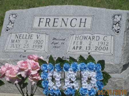 FRENCH, NELLIE  V. - Garden County, Nebraska | NELLIE  V. FRENCH - Nebraska Gravestone Photos