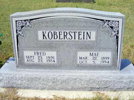 KOBERSTEIN, FRED - Garden County, Nebraska | FRED KOBERSTEIN - Nebraska Gravestone Photos