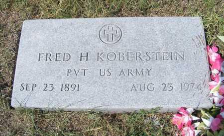 KOBERSTEIN, FRED H. - Garden County, Nebraska   FRED H. KOBERSTEIN - Nebraska Gravestone Photos