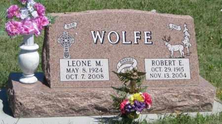 WOLFE, ROBERT  E. - Garden County, Nebraska | ROBERT  E. WOLFE - Nebraska Gravestone Photos