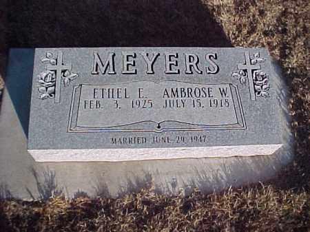 RADER MEYERS, ETHEL - Gosper County, Nebraska | ETHEL RADER MEYERS - Nebraska Gravestone Photos