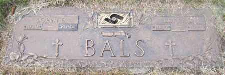 "BALS, ELIZABETH ""BETTY"" L. - Hall County, Nebraska | ELIZABETH ""BETTY"" L. BALS - Nebraska Gravestone Photos"