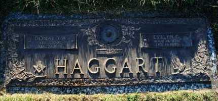 HAGGART, EVELYN C - Hall County, Nebraska | EVELYN C HAGGART - Nebraska Gravestone Photos