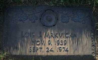 HAGGART MRKVICKA, LOIS J - Hall County, Nebraska   LOIS J HAGGART MRKVICKA - Nebraska Gravestone Photos