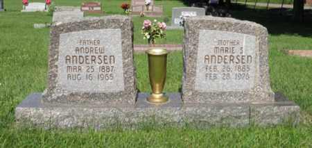 ANDERSEN, MARIE S. - Hamilton County, Nebraska | MARIE S. ANDERSEN - Nebraska Gravestone Photos