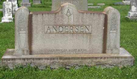 ANDERSEN, FAMILY - Hamilton County, Nebraska   FAMILY ANDERSEN - Nebraska Gravestone Photos