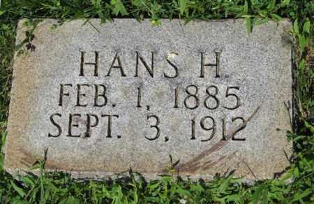ANDERSEN, HANS H. - Hamilton County, Nebraska   HANS H. ANDERSEN - Nebraska Gravestone Photos