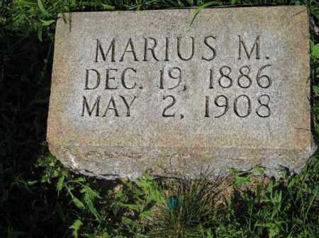 ANDERSEN, MARIUS M. - Hamilton County, Nebraska | MARIUS M. ANDERSEN - Nebraska Gravestone Photos