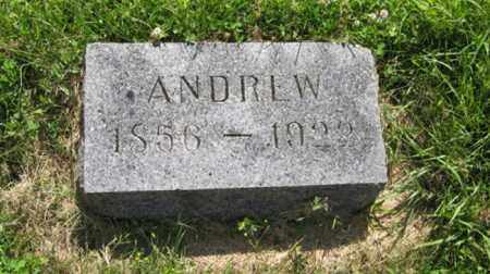 ANDERSON, ANDREW - Hamilton County, Nebraska | ANDREW ANDERSON - Nebraska Gravestone Photos